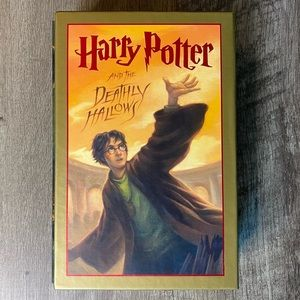 SIGNED 1st edition Harry Potter Deathly Hallows
